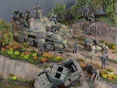 Dioramas and Vignettes: Normandy, 1944