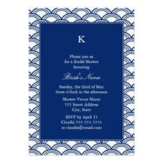 >>>Cheap Price Guarantee          Monogram Royal Blue Seigaiha Pattern Bridal Shower Announcements           Monogram Royal Blue Seigaiha Pattern Bridal Shower Announcements We provide you all shopping site and all informations in our go to store link. You will see low prices onDeals         ...Cleck Hot Deals >>> http://www.zazzle.com/monogram_royal_blue_seigaiha_pattern_bridal_shower_invitation-161414481799703606?rf=238627982471231924&zbar=1&tc=terrest