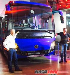 DICV BharatBenz launches all new 16 ton intercity luxury bus in India