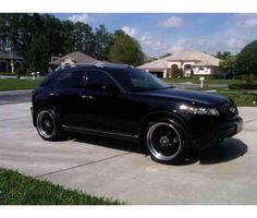 blacked out infiniti fx35