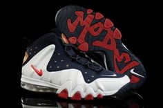the best attitude 296b0 c0211 Latest Listing Cheap Navyblue White Red Nike Barkley Posite Max Newest Now