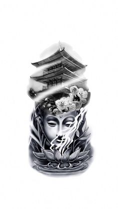 Japanese tattoos designs and meanings japanesetat designs geisha japanese japanesetat meanings tattoos variation of clouds against white background properly grouped Geisha Tattoos, Geisha Tattoo Sleeve, Geisha Tattoo Design, Buddha Tattoo Design, Japanese Temple Tattoo, Japanese Tattoo Art, Japanese Tattoo Designs, Japanese Sleeve Tattoos, Buddha Tattoos