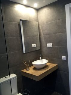 Baño Living Spaces, Sink, New Homes, Vanity, Bathroom, House, Home Decor, Floors, Haus