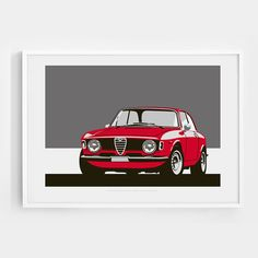 Limited edition 1965 Alfa Romeo Giulia Sprint by GraphicDeluxe