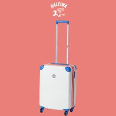 """HAPPY HALEIWA""スーツケースを発売! ポップでカラフルなスーツケース!!  「WHITE SAND / SKY」 詳しくはこちら http://trio1971.com/haleiwa/index.html"
