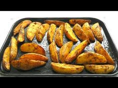 How to make chunky potato wedges, simple but tasty recipe & baked in the oven. Go make some tasty potato wedges! Original Naked C. Healthy Potato Recipes, Roasted Potato Recipes, Healthy Potatoes, Easy Delicious Recipes, Quick Recipes, Yummy Snacks, Veggie Recipes, Tasty Recipe, Cooking Recipes