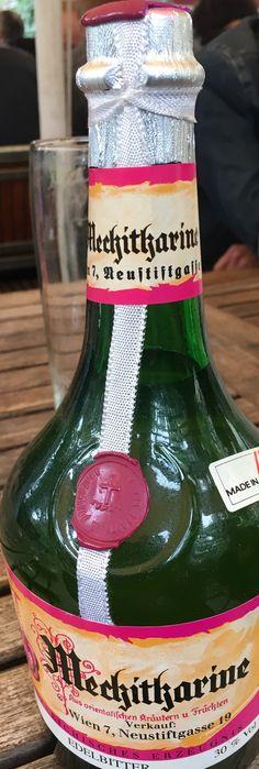 Mechitaristenkloster, Mechitharine Bottle, Drinks, Drinking, Beverages, Flask, Drink, Beverage, Jars, Cocktails