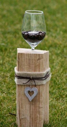 schwebendes Glas