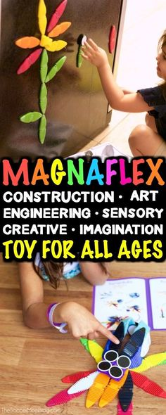 We've found the perfect toy for kids of all ages - From engineering, math, art, and more - you really can do it all with MagnaFlex! Preschool Learning, Fun Learning, Educational Activities, Preschool Activities, Imagination Toys, Math Art, Breastfeeding Tips, Mom Blogs, Healthy Kids