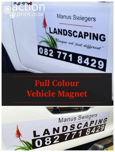Full colour professional vehicle magnet printing Magnetic Car Stickers, Car Magnets, Printed Magnets, How To Remove, How To Apply, Free Design, Keep It Cleaner, Vehicle, Delivery