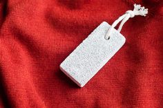 Pumice stone to depill sweaters | Henry Happened