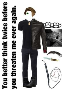 """""""Henry Schmidt"""" by bluestark ❤ liked on Polyvore featuring Urban Pipeline, Timberland, Rebecca Minkoff, X Games, Dolce&Gabbana, Marvel Comics, men's fashion and menswear"""