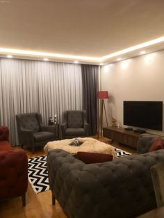 Our home after the renovation Glam Living Room, Living Spaces, Woman Cave, Room Tiles, Baby Room Decor, Sofa Set, Home Decor Styles, Interior Design Living Room, Interior And Exterior