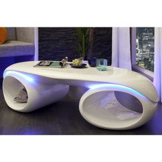 Moderne salontafel Futura met LED verlichting - 21772