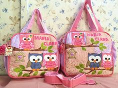 Quilted Handbags, Tote Handbags, Estilo Kylie Jenner, Baby Backpack, Crochet Owls, Baby Diaper Bags, Bag Organization, Purses And Bags, Sewing Crafts
