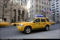 2005 Ford Escape Hybrid Taxis Running Strong in SF and NYC - http://sickestcars.com/2013/05/12/2005-ford-escape-hybrid-taxis-running-strong-in-sf-and-nyc/