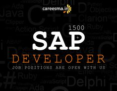 1500+ SAP Developer jobs are waiting for right candidates... Apply now!  http://www.careesma.in/jobs?q=sap-abap+developer+chennai