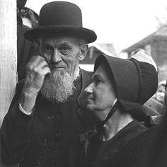 """""""Older"""" Amish Couple"""