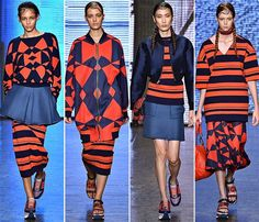 DKNY Spring/Summer 2015 Collection - New York Fashion Week