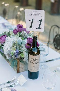 custom wine labels #tablenumbers