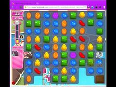 Candy Crush Saga Level 135 without Boosters