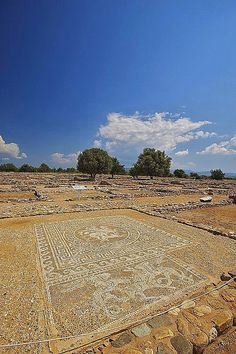 Not far from Kassandra, Ancient Olynthos, Halkidiki, Greece one of the city's which have completely geometrical structure ,and have bioclimatic forms . Ancient Ruins, Ancient Greece, Ancient History, Beautiful Islands, Beautiful Places, Halkidiki Greece, Macedonia Greece, Holiday Places, Thessaloniki