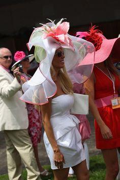 Hats of The Kentucky Derby / Oaks Fashion