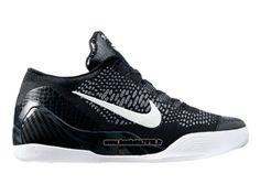 Nike Kobe IX Elite Low iD Chaussures Boutique Nike Officiel Pour Homme Noir - Blanc - Gris 639045-ID4