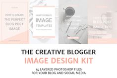 Blog and Social Media Image Kit by Elan Blog Studio on @creativemarket