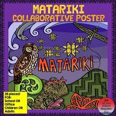 Celebrate the Māori New Year with this Matariki collaborative poster. For young and old these posters are so much fun and the collaborative nature of the exercise brings people together! Physical Education Games, Health Education, Physical Activities, Art Education, Fun Activities, Team Building Exercises, Team Building Activities, Instructional Technology, Instructional Strategies