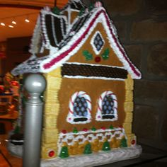 Larger ginger bread house