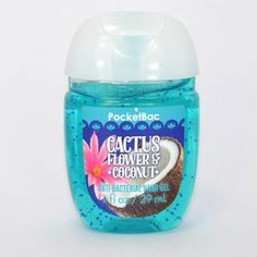 Gel antibactérien CACTUS FLOWER AND COCONUT Bath and Body Works Us pocketbac