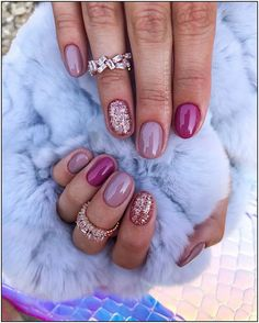 155 newest short nails art designs to try in 2020 69 Pretty Nail Colors, Pretty Nails, Fancy Nails, Cute Nails, Nail Art Designs, Gel Nagel Design, Nagel Hacks, Almond Acrylic Nails, Nagellack Trends