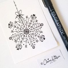 handlettering weihnachten I know its been really sunny outside today bu. Christmas Doodles, Christmas Drawing, Christmas Art, Christmas Sketch, Christmas Ideas, Making Jewelry For Beginners, Smash Book, Pen Art, Chalkboard Art