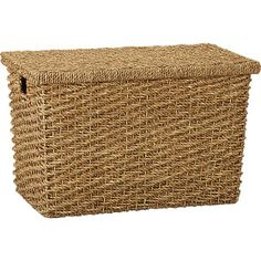 Cameron Small Trunk in Storage Baskets & Bins   Crate and Barrel