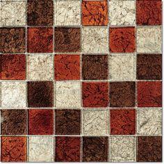Dell'Arte - mozaiki dekoracyjne Brillant Mix Cynamon 48 (plaster 30x30)
