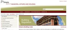 Ontario's Building Code Building Code, Building A House, Brown College, Land Use, January 1, Ontario, Public, Coding, This Or That Questions