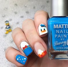 It's the of June, which means one thing. 💙💛❤️A bit of for you guys- Donald made his on-screen debut 84 years ago today! Matte Nails, My Nails, Art Addiction, Like Image, Disney Nails, Nail Designs, Lily, Nail Art, June