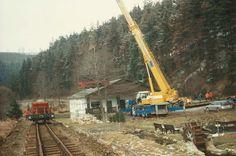Preßnitztalbahn Neuaufbau am Forellenhof