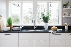 One Kitchen, Three Ways: A Scandi Kitchen with Bosch Home Appliances - Remodelista