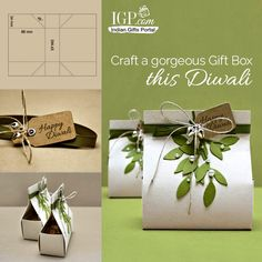Craft a gorgeous Gift Box this Diwali for your loved ones