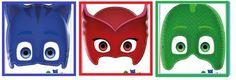 Excelentes moldesde máscaras de PjMasks, los personajes del momento!. Una de las cosas que más interesa a los niños es tener todo lo que se identifique con sus dibujos favoritos. La temática hoy e…