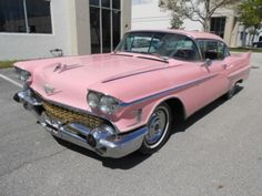 1958 Cadillac Coupe deVille...maybe I should go with pink!  Some day!