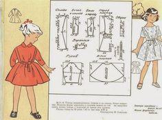 Par amour des poupées Modes et Travaux: Patrons pour filles