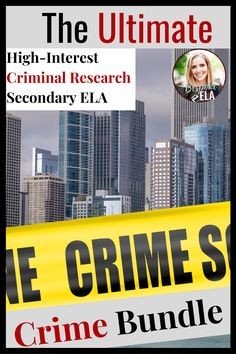 The Ultimate Crime Bundle- Criminals, Serial Podcast, Lizzie Borden, & MORE! - In this bundle, you will find the top-selling crime units from Bespoke ELA from the Lizzie Borden m - High School English, Argumentative Essay, Fiction And Nonfiction, Reading Workshop, Dramatic Play, Writing Skills, Bespoke, Crime, Target