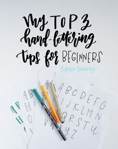 Here, I am sharing the three tips I wish I had received when I began hand-lettering! These are 3 simple ideas that can change your outlook on lettering, and what it means to be a hobbyist vs. a lettering guru!