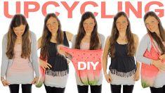 UPCYCLING | 3 DIY IDEEN für alte KLAMOTTEN | ohne Nähen