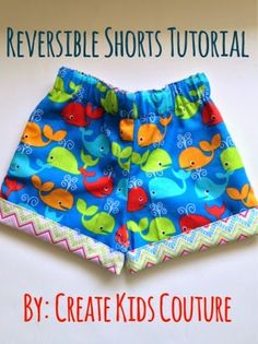 How To Tuesday: Reversible Shorts