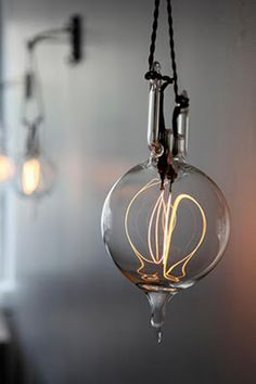 I love this but can't help thinking about the artisan light bulbs on Portlandia.