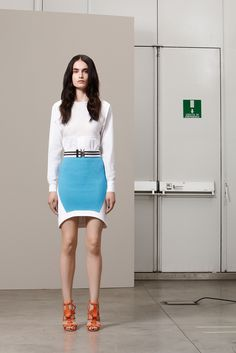runwaym: Antonio Berardi Resort 2013